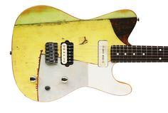 totem-x guitar by Spalt.