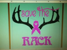 Save the Rack- make a great t-shirt for the country gals during brest cancer awareness month