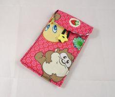 Cartoon Babies Fabric Padded Phone Cover - Free UK P £8.00
