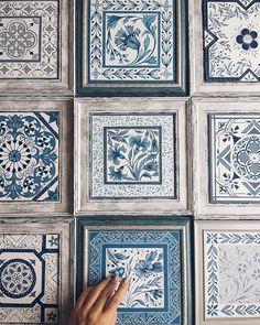Instagram photo by anastasia_ropalo - В новом году продолжу Вам показывать синенькие плиточки спасибо моим заказчикам а предыдущий пост все видели?