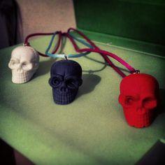 Handmade Konstantinos: Skeleton Necklace