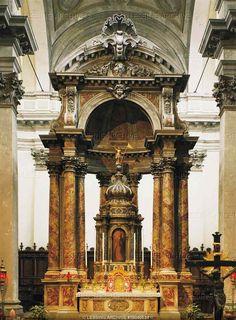 Main altar, church dei Gesuati (Jesuit church) 1730  Church dei Gesuati, Venice, Italy