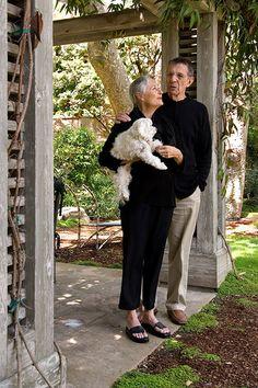 Leonard Nimoy and Susan Bay-Nimoy