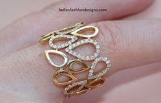 latest designs of gold rings for womens - Fashion Beauty Mehndi Jewellery Blouse Design