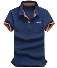 Brand New Fashion Cotton Shirts Brand Short Sleeve Classic Solid t Shirt Men's T-shirt For  Summer Style tshirt #camiseta #realidadaumentada #ideas #regalo