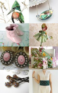 Walk Softly and Wear Pink Boots by Patrice on Etsy--Pinned with TreasuryPin.com