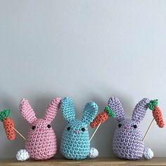 Little Bunny Wabbit pattern by Sarah-Jane Hicks