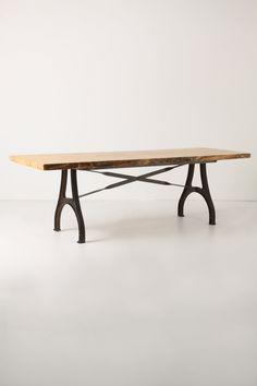 Lever & Lumber Table - Anthropologie.com