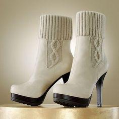 JLo white boots @kohls