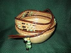 pine needle baskets for sale - Google Search