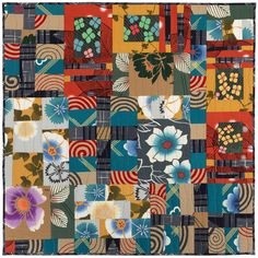 Episode The Bold Beauty of Japanese Yukata Fabrics – Collecting Culture Japanese Quilt Patterns, Japanese Quilts, Japanese Fabric, Quilting Tips, Quilting Designs, Quilt Design, Asian Quilts, Japanese Yukata, Hand Sewing Projects