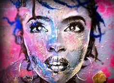 Lauryn Hill by Allan André  check... allanandre.com