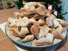 twist on mince pies. Lorraine Pascale recipe :) soooo much better than normal mince pies