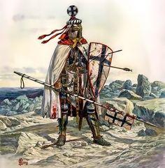 Teutonic knight mid XIII century
