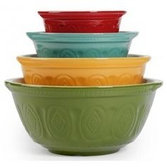 I like these mixing bowls! by eddie
