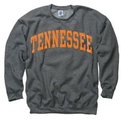 Tennessee Volunteers Dark Heather Arch Crewneck Sweatshirt.  yep, bought it.