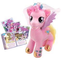 "My Little Pony Storyteller Plush - Princess Candance - Kid Designs - Toys ""R"" Us"