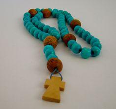 Preciosos rosarios de madera  minka-accesorios.blogspot.com