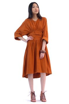 af7bda6ebc7 Earth Age Avant-Garde Dress