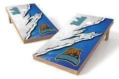 UCLA Bruins Single Cornhole Board - Ripped