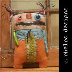 Art Doll   by CphelpsDesigns on Etsy, $40.00
