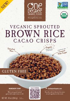 This veganic cereal is perfect for breakfast! #soyfree #dairyfree #vegan