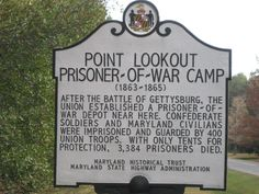This site is dedicated to the men, women, and children who were imprisoned / perished at Point Lookout Prison Camp for Confederates from 1863 to 1865 in the state of Maryland during the War for Southern Independence.