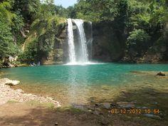 Waterfall at Les Cayes, Haiti