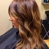 Golden Brown Hair Color Ideas for Medium Length Hairstyles 2017