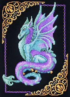Mythical Dragon Cross Stitch - Janlynn
