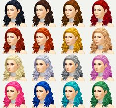 A new hairstyle 'Elizabeth' for your female sims! I hope you enjoy it! C: Credits: EA for the mesh and textures. Made with Sims4 Studio. • Base Game Compatible • Hat Compatible • Custom Thumbnail • 16...