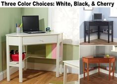 Corner Computer Desk Home Dorm Kids Student Bedroom Furniture Laptop Stand Desks #Contemporary