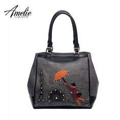 Women Casual Handbags Famous Designer Women Totes Handmade Embroidery Cartoon Brand Fashion Top-Handle Bag //Price: $55.80 & FREE Shipping //     #womenbags