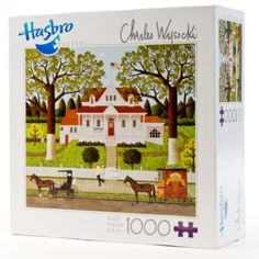 Amazon.com: Charles Wysocki : Ice Cream and Hopscotch 1000 piece puzzle: Toys & Games