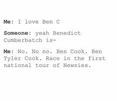 Ben Cook. Now he's in Tuck.