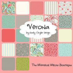By Emily Taylor Verona | Verona by Emily Taylor Design for Riley by thewhimsicalwillow, $5.50