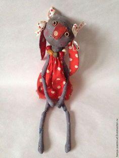 Игрушки животные, ручной работы. Ярмарка Мастеров - ручная работа Кукла Зайчик-девочка. Handmade.