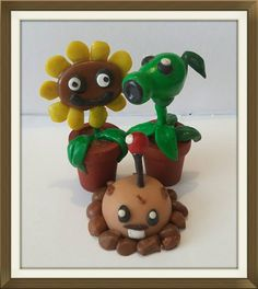 Check out this item in my Etsy shop https://www.etsy.com/uk/listing/386354520/set-of-3-plants-vs-zombies-polymer-clay