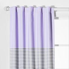 Tassel Blackout Curtain Panel Violet Purple 42 Quot X63