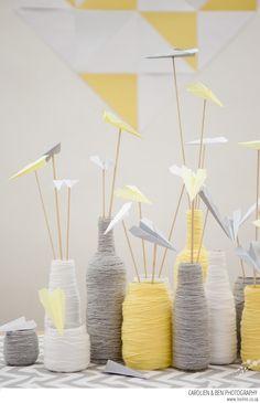 Paper Planes wedding inspiration {Carolien & Ben}