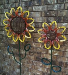 X-Large Horseshoe Flower Yard/Garden Art