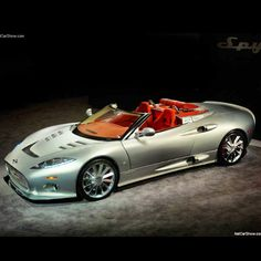 The ultimate Spyker C8  Aileron Spyder VROOM