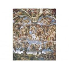 39250 - Puzzle El Juicio Final, Michelangelo, 1000 piezas, Clementoni