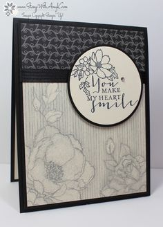 Timeless Love stamp set and Timeless Elegance DSP from Stampin Up!