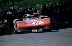 Toine Hezemans / Nino Vaccarella - Alfa Romeo T33/3 - Autodelta S.p.A. - ADAC 1000 km-Rennen und Formel Super-Vau Rennen Nürburgring - Nürburgring 1000 Kilometres - 1971 International Championship for Makes, round 8 - Challenge Mondial, round 3