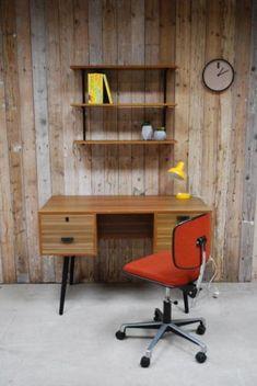 Vintage bureautje Deense Stijl
