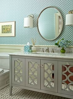 FINDINGS OF DECOR - decor blog: MOBILE WOOD: FOR ROOM OR THE BATHROOM?