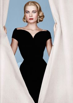 Grace Kelly always understood the impact of a Little Black Dress.