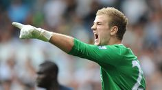 Joe Hart will be the best keeper in the world one day. Only 25 and already insanely amazing. And easy on the eyes.