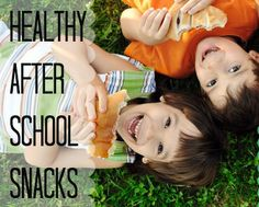 Yummy and Nutritious snacks are hard to come by! Stave off the hunger monster with these after-school snack ideas